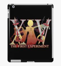 THE FIRST EXPERIMENT iPad Case/Skin