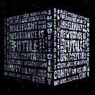 Star Trek - Borg Cube Stickers by reslanh