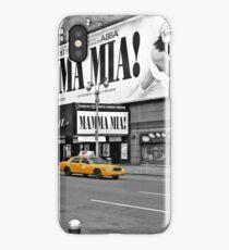 NYC Yellow Cabs Mamma Mia iPhone Case/Skin