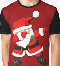 Dabbing Santa Claus Christmas Dab Graphic T-Shirt