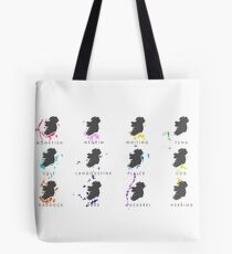 Ireland's Fishing Grounds Tote Bag