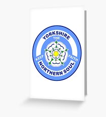 Yorkshire Northern Soul Greeting Card