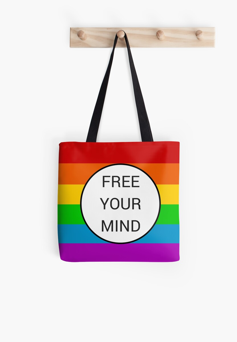 FREE YOUR MIND ~ rainbow by IdeasForArtists
