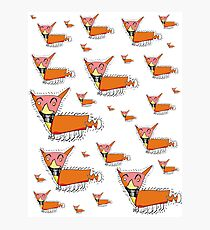 Lots of Foxes by Thomas Photographic Print
