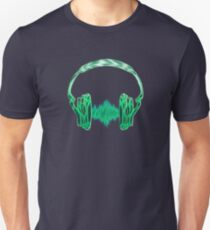 Headphone, Music, Disco, Dance, Electro, Trance, Techno, Wave, Pulse,  T-Shirt