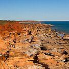 Gantheaume Point, Broome, WA by Richard  Windeyer