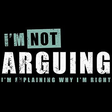 I'm not arguing by giuliomaffei90