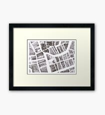 Cork City Centre Framed Print
