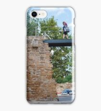 Medieval wall in Alcudia, Majorca iPhone Case/Skin