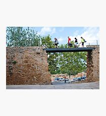 Medieval wall in Alcudia, Majorca Photographic Print