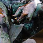 Statue in the rain detail, Villa Cimbrone, Ravello, Amalfi Coast, Italy by Andrew Jones