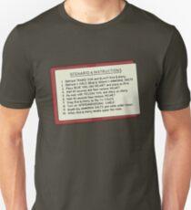 Rick and Morty – Scenario 4 Instructions T-Shirt