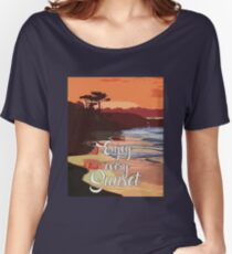 Enjoy Every Sunset Women's Relaxed Fit T-Shirt