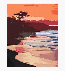 Enjoy this californian sunset Photographic Print