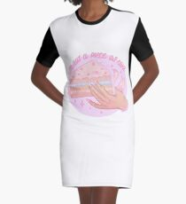 CAKE Graphic T-Shirt Dress