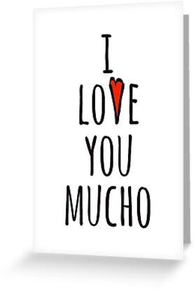 «te amo mucho» de MissElaineous Designs