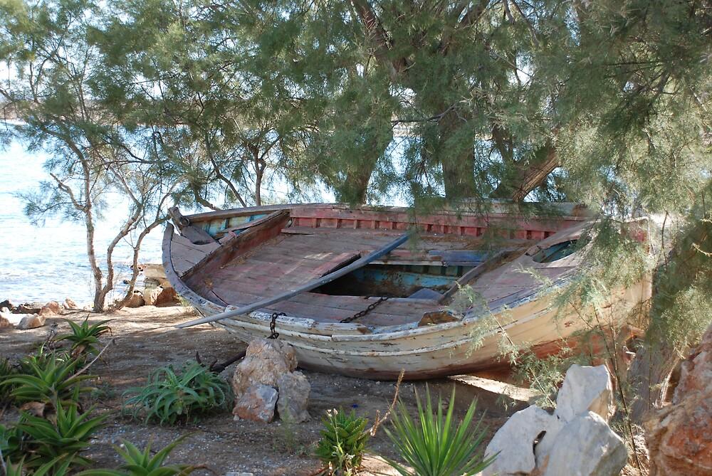 Old Fishing Boat by doubletap