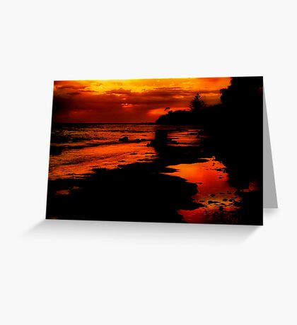 """""""Sunrise at the Spring"""" Greeting Card"""