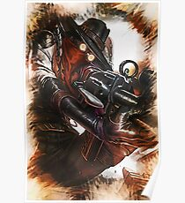 League of Legends HIGH NOON JHIN Poster