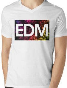 EDM Mens V-Neck T-Shirt