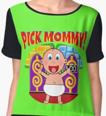 TV Game Show - TPIR (The Price Is...) Pick Mommy Women's Chiffon Top
