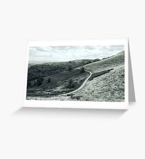 Path in the Hills Greeting Card