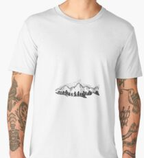 Mountain fish  Men's Premium T-Shirt