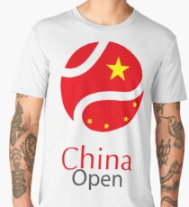 China open Tennis Championship Support Men's Premium T-Shirt