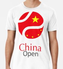 China open Tennis Championship Support Premium T-Shirt