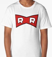 Red Ribbon Long T-Shirt