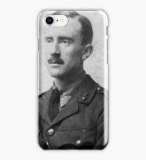 J.R.R. Tolkien - black and white iPhone Case/Skin