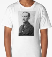 J.R.R. Tolkien - black and white Long T-Shirt