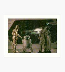 SW ESB Space Scenery Art Print