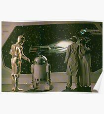SW ESB Space Scenery Poster