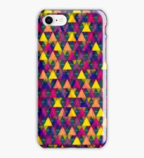 Abstract Color Triangles iPhone Case/Skin