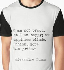 Alexandre Dumas quote Graphic T-Shirt