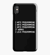 I hate programming iPhone Case/Skin