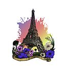 Eiffel Tower by Adam Santana