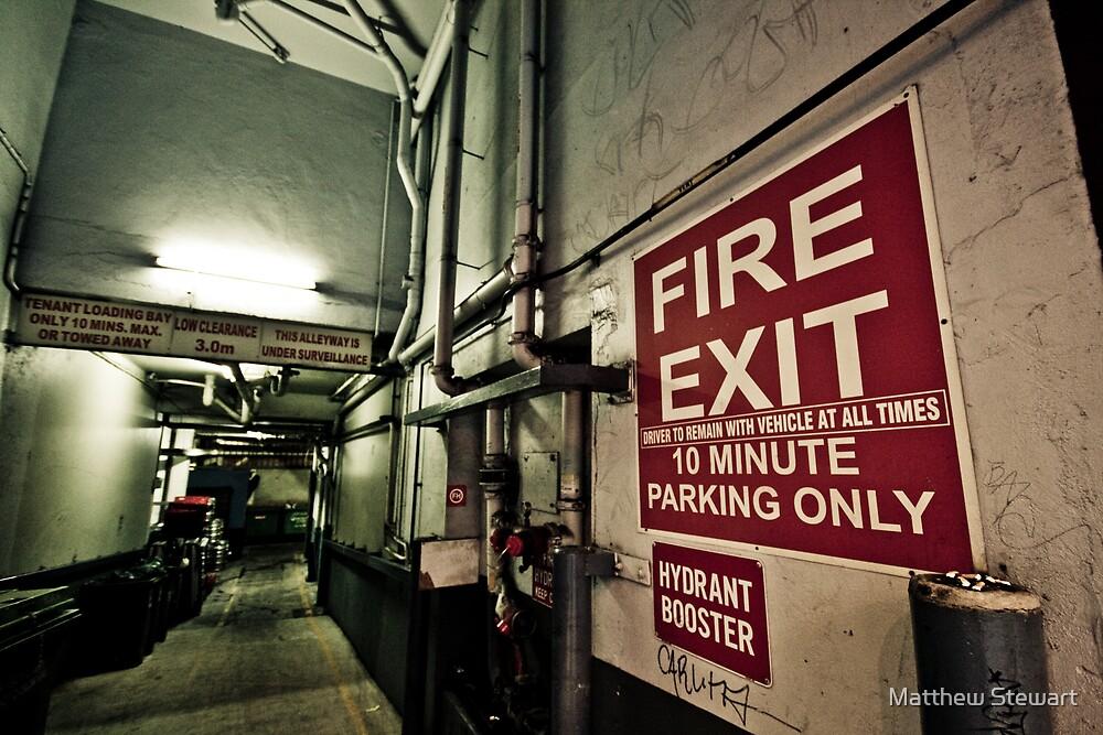 Fire Exit by Matthew Stewart