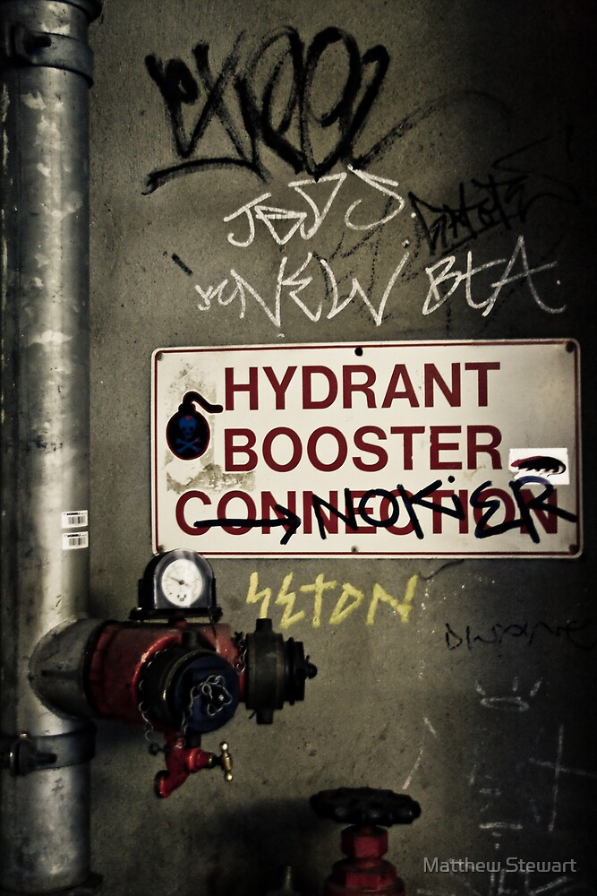 Hydrant Booster by Matthew Stewart