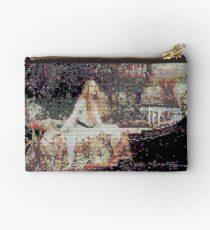 Glitch Waterhouse Lady of Shallot Studio Pouch