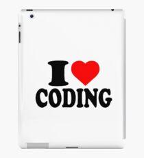 I love Coding iPad Case/Skin