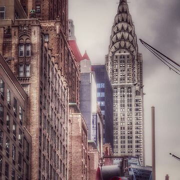 Silver Majesty - Chrysler Building New York by mimmi12