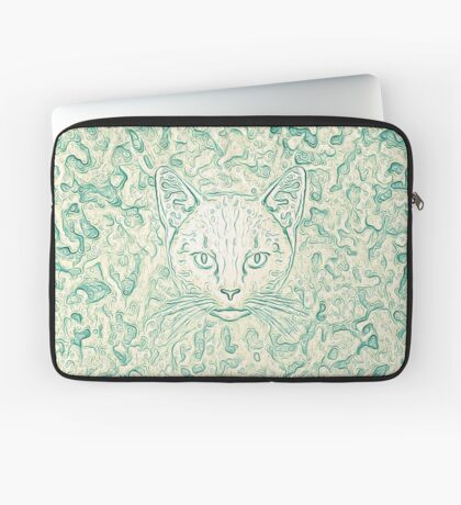 Cold—Warm Cat Laptop Sleeve