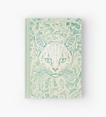 Cold—Warm Cat Hardcover Journal