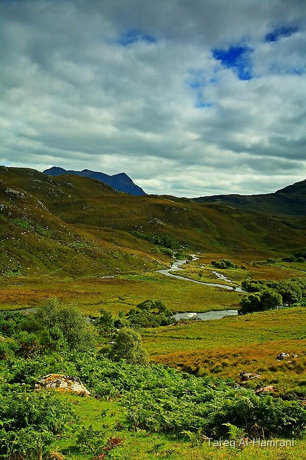 Scottish Landscape by Tareq Al-Hamrani