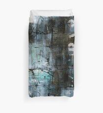 Blue Graffiti Duvet Cover