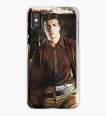 Captain Malcolm Reynolds - FIREFLY iPhone Case/Skin