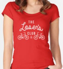 The Loser's Club  Women's Fitted Scoop T-Shirt