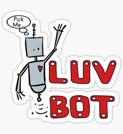 Luv Bot Sticker